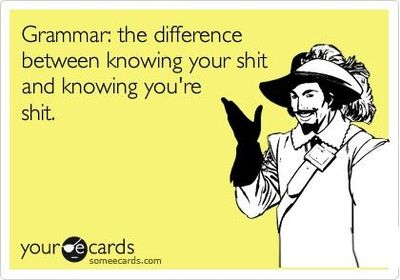 Image result for grammar meme