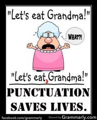 Grammar meme that says